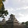 2016年11月訪問宇土櫓と石垣