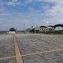 城跡から大津港を撮影しました。