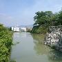 廊下橋から北九間櫓石垣