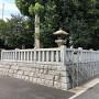 案内板@石浜神社