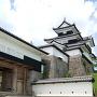 竹の丸から前門と三重櫓