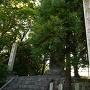 城址碑と小六の碑