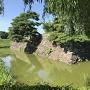石垣、本丸の堀