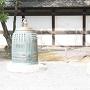 二の丸御殿の前にある釣鐘