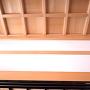 変化する格天井