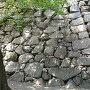 石垣と石垣の境目