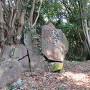 屏風岩(弾除け岩)