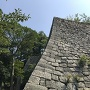 見返り坂(三の丸北側)の石垣