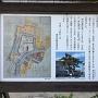 長島城跡の案内板