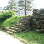 屏風櫓跡への階段
