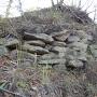 米山城石積