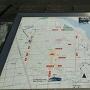 奥州市埋蔵文化財調査センター前のマップ