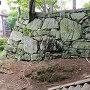 帳櫓(とばりやぐら)跡石垣の南面