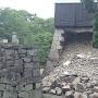 五階櫓石垣