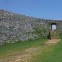 一の郭入り口石造アーチ門