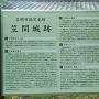 下屋敷跡近くにある説明板