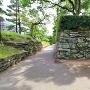 表御殿庭園の外側石垣