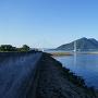 多々羅大橋と古城島