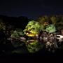 二の丸庭園(ライトアップ)