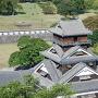 大天守最上階から見る宇土櫓