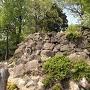 Ⅱ曲輪の石垣