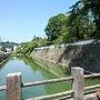 南堀と切込接の石垣