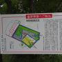 飯野神社前の解説板