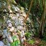 伝楢崎丸の石垣