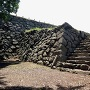 天守台への石段