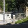 石垣と朝鮮使節石碑