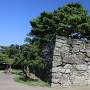 黒門跡の石垣