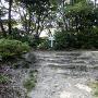 門跡の石積み