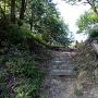 明神丸虎口の石階段