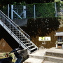 登り口と陣屋跡碑