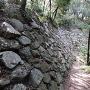 北二の丸下の石垣
