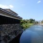 二ノ丸外側の水堀
