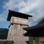 井楼櫓と稲荷神社