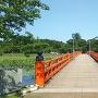 晴天の西堀橋