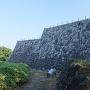 本丸石垣(天守台と東櫓台側)