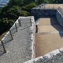 東櫓台跡からの虎口