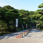 三ノ丸への通路