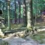 権現曲輪(熊野神社)
