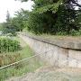 大手の反対側あたりの石垣
