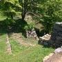 太鼓櫓から見る虎口