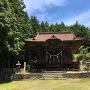 麓にある中山神社