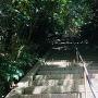 本丸までの急階段