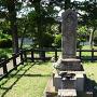 城主 潮田資忠の墓碑