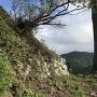 二段目の東側の石垣