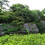 龍城堀の三重石垣