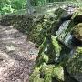 副郭下の石垣